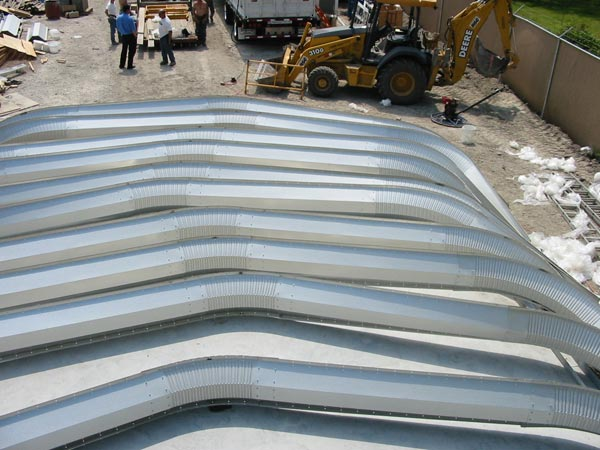 Quonset Huts Assembly
